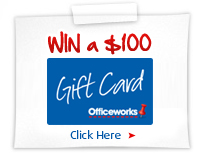 Win a $300 Office Works gift card
